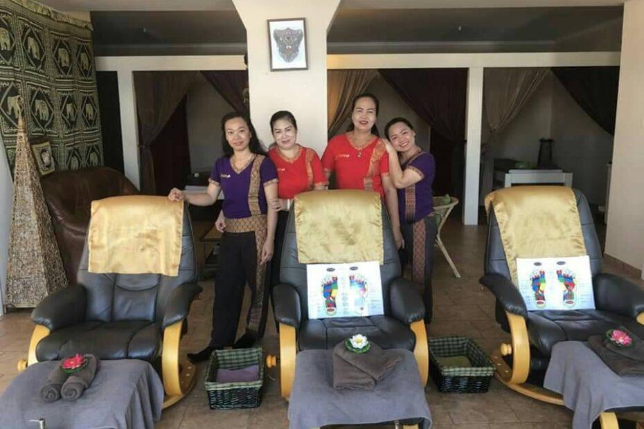 Thai Touch massage happy staff
