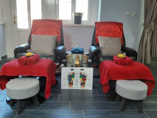 Thai Touch massage Opatija chairs