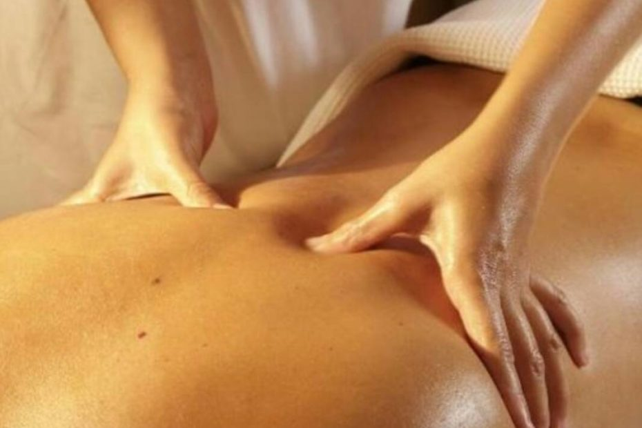 Thai Touch massage back massage