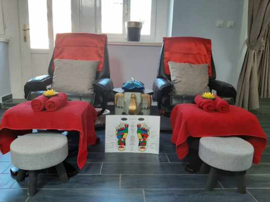 Thai Touch massage Opatija chairs