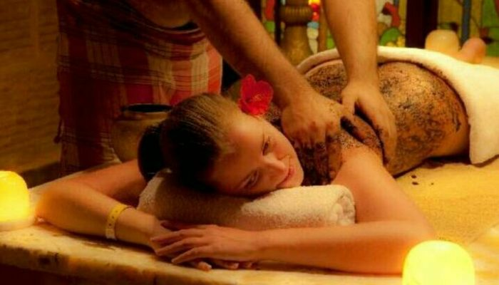 Thai Touch massage coffee scrub
